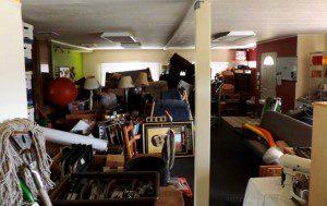 Big house garage sale