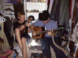 Erik & Micah closet music
