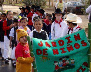 Micah's Kinder parade 2007