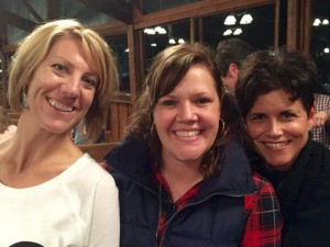 Carrie, Leslie, Laurie